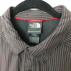 The North Face Shirts - The North Face Stripe Button Down Shirt Sz XL